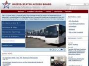 Imagen de la página principal del Consejo de Acceso de los Estados Unidos