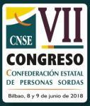 Logotipo VII Congreso de la CNSE