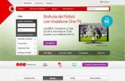 Imagen de la página web de Vodafone España