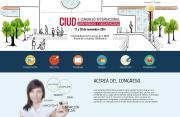 Imagen de la página web del II Congreso Internacional Universidad y Discapacidad