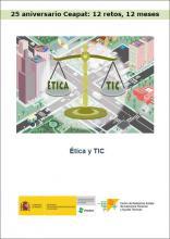 Imagen de la portada de Ética y TIC