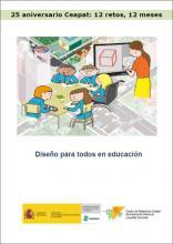 Imagen de la portada del Diseño para todos en educación