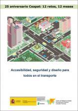 """Imagen de la portada del documento """"Accesibilidad, seguridad y diseño para todos en el transporte"""""""