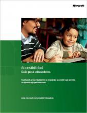 Imagen de la portada Accesibilidad: Guía para educadores