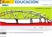 Imagen de la portada de Accesibilidad, educación y tecnologías de la información