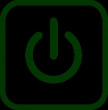 Icono de alimentación eléctrica