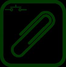 Icono de accesorios para dispositivos de tipo pulsador