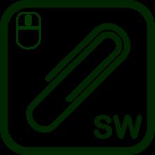 Icono de utilidad informática para ratónes