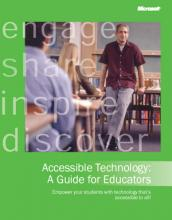 Accessible Technology: A Guide for Educators book cover image