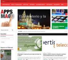 Imagen de la página Web de APPS MAG