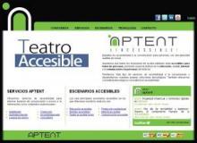 Página principal de Aptent