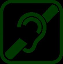 Icono de tecnologías para la audición