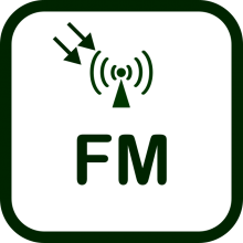 Icono de receptor FM