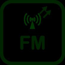 Icono de transmisor FM