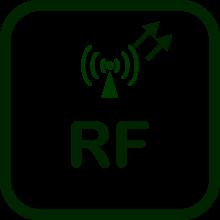 Icono de transmisor RF