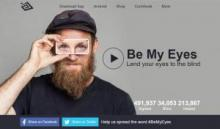 Be My Eyes website image