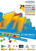 Imagen del cartel del 7º Congreso Nacional de Tecnologías de la Accesibilidad