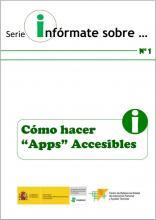 Imagen de la portada de Cómo hacer Apps accesibles