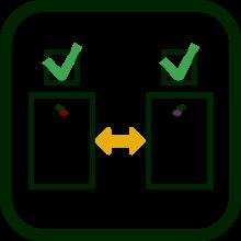 Icono de comparar productos seleccionados
