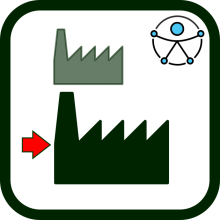 Accessibility and large companies icon