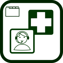 Socio-health services icon