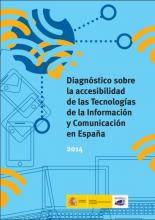 """Imagen de la portada del libro """"Diagnóstico sobre la accesibilidad de las Tecnologías de la Información y Comunicación en España"""""""