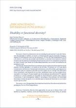 Disability or functional diversity? document image