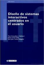 Imagen de la portada de Diseño de sistemas interactivos centrados en el usuario