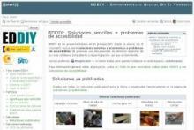 Imagen de la página web de EDDIY
