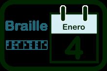 Logotipo del Día Mundial del Braille