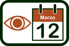 Icono del Día Mundial del Glaucoma