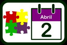 Logotipo del Día Mundial de Concienciación sobre el Autismo