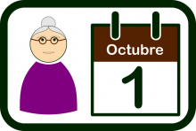 International Day of Older Persons icon