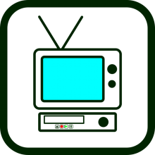 Consumer electronics icon
