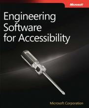 Cover page image of Engineering Software for Accessibility