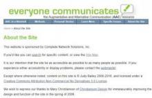 """everyone communicates"" website"