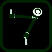 Icono de brazo articulado