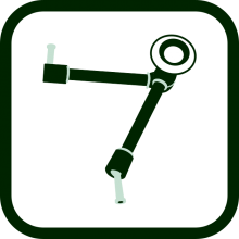 Variable arm icon