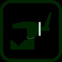 Icono de pinza de fijación