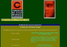 Imagen de la página Web de Fundació de Cecs Manuel Caragol