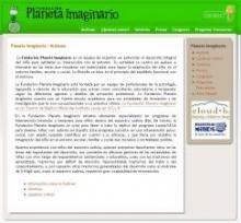 Página principal de Fundación Planeta Imaginario