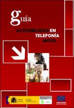 Imagen de la portada de Guía: Accesibilidad en telefonía móvil