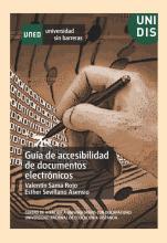 Imagen de la portada del documento Guía de accesibilidad de documentos electrónicos