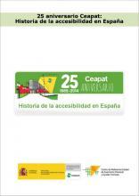 Imagen de la portada de Historia de la accesibilidad en España