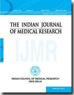 Cubierta de la revista Indian Journal of Medical Research