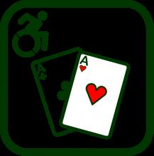 Icono de juego accesible