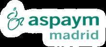 Logotipo de Aspaym Madrid