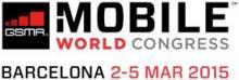 Logotipo de 2015 GSMA Mobile World
