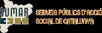 Logotipo de SUMAR, Serveis Publics d'Acció Social de Catalunya