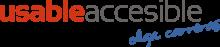 Logotipo de Usable y Accesible